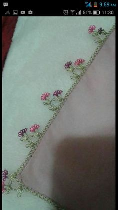 This Pin was discovered by Arz Needle Lace, Tatting, Embroidery, Indian Embroidery, Kitchen Things, Lace, Hardanger, Hand Embroidery, Projects