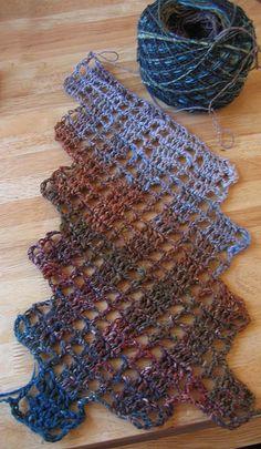 scarf crochet free pattern