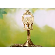 Buy Traditional Brass Lamp Unique Souda Ubachar Mayura Deep | PC 18925 Brass Lamp, Deep, Traditional, Unique, Products, Gadget