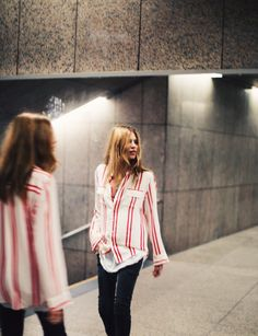 Maja Wyh in our Jadicted blouse