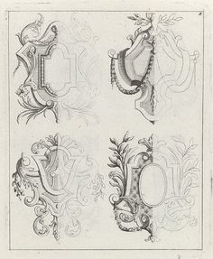 Marvelous Home Design Architectural Drawing Ideas. Spectacular Home Design Architectural Drawing Ideas. Baroque Frame, Filigree Tattoo, Gothic Pattern, Jewel Tattoo, Ornament Drawing, Bible Illustrations, Renaissance Architecture, Typography Love, Ornaments Design