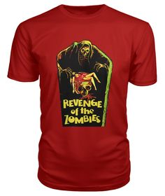 Limited Edition Black Magic 2 premium t-shirt. aka Revenge of the Zombies, Gou hun jiang tou 1976 – Hong Kong – director: Meng Hua Ho