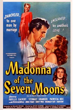 Madonna of the Seven Moons dvd / dvdr Director: Arthur Crabtree Writers: Margery Lawrence (novel), Roland Pertwee (screenplay) Stars: Phyllis Calvert, Stewart Granger, Patricia Roc Vhs Movie, Movie Titles, Movie Posters, Stewart Granger, The Criterion Collection, The Seven, Universal Pictures, Movie Photo, British Actors