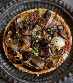 Recipe: Onion and Mushroom Tart — Recipes from The Kitchn