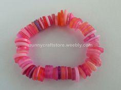 Button Bracelet - Pink