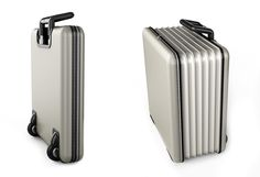 Accordion expandable trolley suitcase
