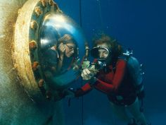 Sylvia Earle  http://www.nationalgeographic.com/explorers/bios/sylvia-earle/