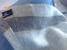 Stansborough 100% wool ooak (sister wrap has a blue stripe)