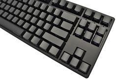 Ducky One TKL Side Print PBT Mechanical Keyboard (Brown Cherry MX)