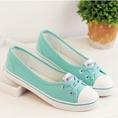 Women's Fashion Canvas Casual Breathable Sneakers 6 Colors