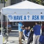 On campus and need help. Visit the Ask Me welcome stations around campus #sjsu #helpingandcaring - See more at: http://spartandaily.com/114553/ask-welcome-stations-offer-assistance-new-students#sthash.R7wzmuaN.dpuf