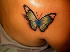 See More D Butterfly Tattoos On Back | Ruth Tattoo Ideas