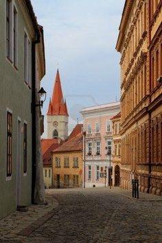 Historical city of Znojmo, Czech Republic