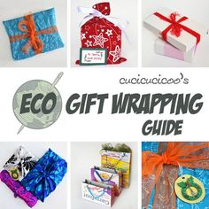 Stop wasting wrapping paper! Here are some fantastic ideas for eco-sustainable gift wrap, for beautiful and conscientious gift packages! www.cucicucicoo.com Easy Diy Gifts, Homemade Gifts, Unique Gifts, Wrapping Ideas, Gift Wrapping, Holiday Crafts, Christmas Diy, Crafts For Kids, Diy Crafts