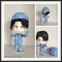 Attack on Titan - Chibi Levi Free Figure Papercraft Download
