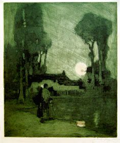 Modern Printmakers: William Lee Hankey's deserted village