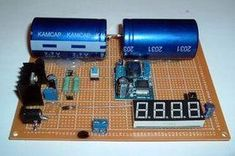 Variable super capacitor battery provides power on the go Lead Acid Battery, Solar Battery, Electronics Projects, Iot Projects, Power Electronics, Electronics Components, Energy Projects, Arduino Projects, Electrical Engineering