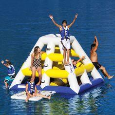 The Floating Jungle Gym - Hammacher Schlemmer