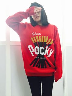 Image of Pocky jacquard sweater