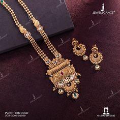 Antique Necklace, Antique Jewellery, Gold Pendant Necklace, Necklace Set, Gold Wedding Jewelry, Bridal Jewellery, Gold Jewelry, Women Jewelry, Gold Mangalsutra Designs
