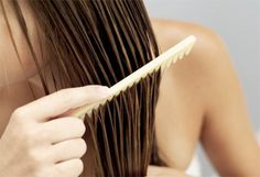Add natural highlights to your hair. Dilute the hydrogen peroxide so the solution is 50% peroxide and 50% water. Spray the solution on wet hair to create subtle, natural highlights.