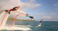 Water jets - gotta do it!