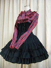 Atelier Pierrot corset skirt | #lolita #fashion #atelierpierrot