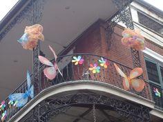 Balcony, French Quarters, New Orleans, LA