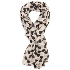 A|Wear Bow Detail Scarf ($16) ❤ liked on Polyvore