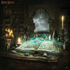 Spellcraft- Card by mlappas  (http://mlappas.deviantart.com/art/Spellcraft-Card-586450158)