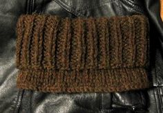 Goodman's Gaiter. A super easy, quick to knit pattern. Plus it has the hubbie stamp of approval.