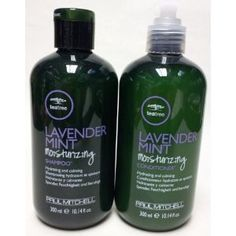 Paul Mitchell Tea Tree Lavender Mint Moisturizing Shampoo and Conditioner Duo