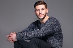 Sweater - French Connection -may,2014 Adam Lallana