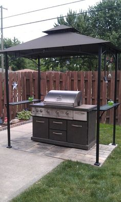 Grill Gazebo  Good Idea And Functional