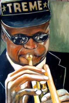 """Jazz was born in Treme New Orleans and a very famous jazz song created there was, """"I Hope You're Comin' Back To New Orleans."""" Jazz was the inspiration for many new musical genres. Hip hop was formed from jazz music later on and was the most popular genre New Orleans Music, New Orleans Art, Louisiana Art, New Orleans Louisiana, Jazz Songs, Jazz Music, Jazz Artists, Jazz Band, Music Artwork"""