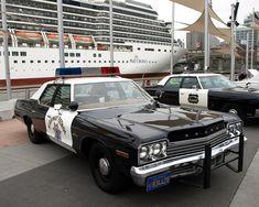 Vintage Dodge Monaco California Highway Patrol Police Car, New York City by jag9889, via Flickr
