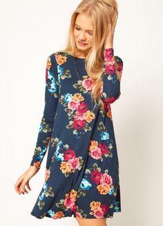 Платье с цветочным принтом 3