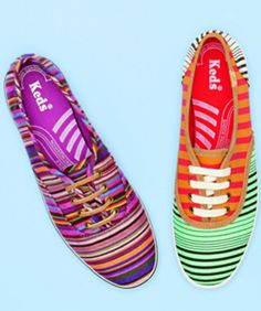 Keds For Madewell! How do I not own all of the stripe ones yet??
