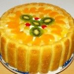 TORT DIPLOMAT Mango, Cheesecake, Food And Drink, Pudding, Pie, Sweet, Desserts, Cakes, Projects