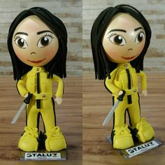 Boneca Personalizada em EVA Kill Bill