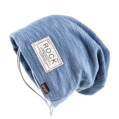 New Autumn Hip hop cap Winter beanies men hats Rock logo Casual Cap Turban hat | eBay