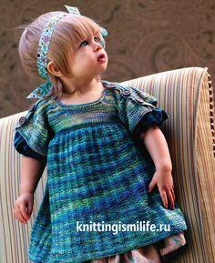 Сукня для дівчинки Sock to frock