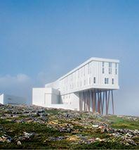 The Honeymoon: Fogo Island Inn in Newfoundland, Canada. Photo: Alex Fradkin