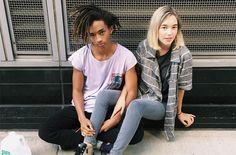 Jaden Smith & Sarah Snyder