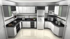 decoração de cozinha planejada
