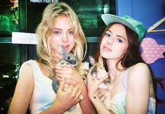 Pastel Rabbits:  Masha Mel for Lashes of London