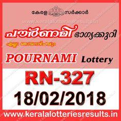Kerala Lottery Chart 2011