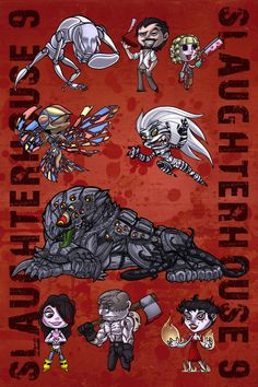 Slaughterhouse9 by Scarfgirl.deviantart.com on @DeviantArt Characters from webserial Worm by Wildbrow