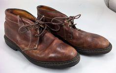 Allen Edmonds Mens 8D Brown Leather Kirkwood Ankle Boots   #AllenEdmonds #AnkleBoots