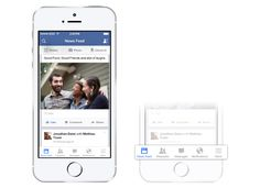 Facebook iOS app gets a facelift, gives iPhone users a new navigation bar
